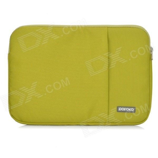 "POFOKO Protective Nylon Sleeve Bag w/ Zipper for MacBook Air 11.6"" Laptop - Green Price: $14.30"