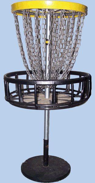 Homemade Disc Golf Basket