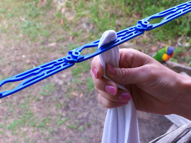Ezyline Pegless Clothesline - a brilliant Aussie made product designed to save you time!