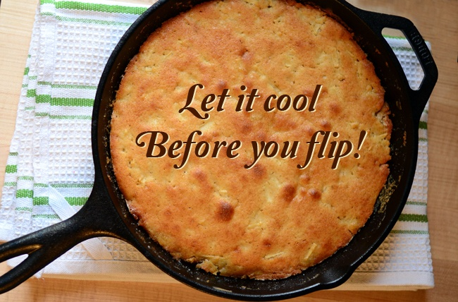 Apple Cake In An Iron Skillet Recipe — Dishmaps