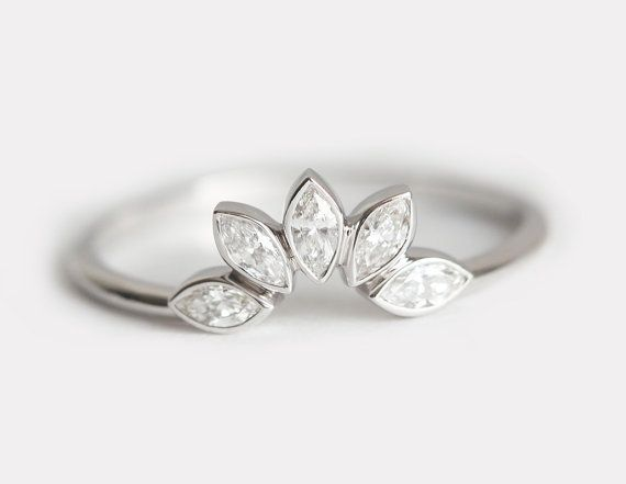 Matching Diamond Wedding Ring Matching Diamond by MinimalVS