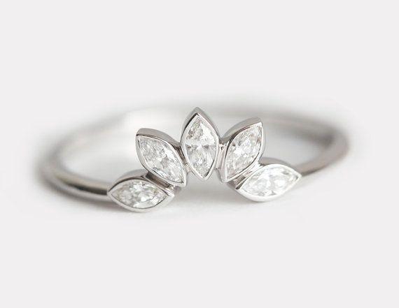 Matching Diamond Wedding Ring Matching Diamond by MinimalVS
