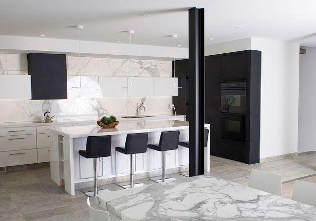 cocina-blanca-y-negra-con-isla-Secter-Design1