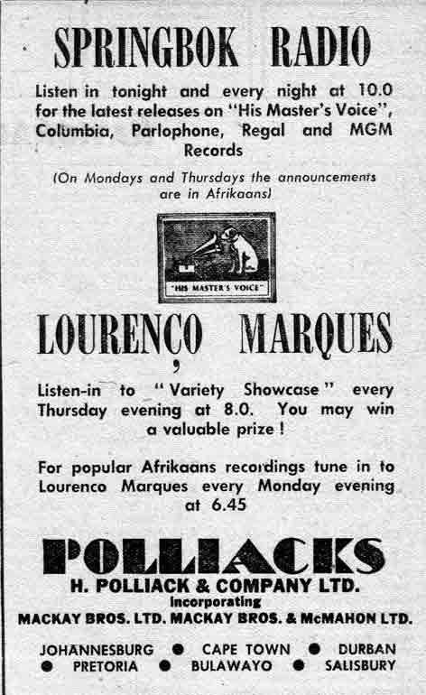 LM Radio Photos - Ad from Radio Magazine
