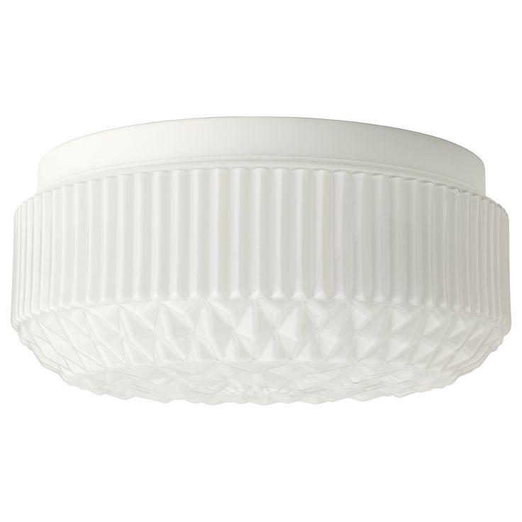 VANADIN Tak-/vegglampe - diameter 36 cm, dybde 13 cm, IKEA, 329 pr stk, eksl Ledare LED-bære E27 400 lumen 1 stk