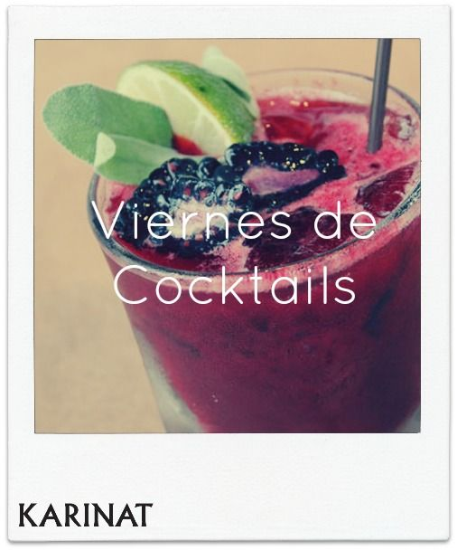 Viernes de Cocktail con Frutos Rojos Karinat!  Cocktails Friday with Karinat Berries!