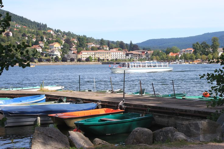 Lake Gerardmer- Vosges France. A Beautiful place.