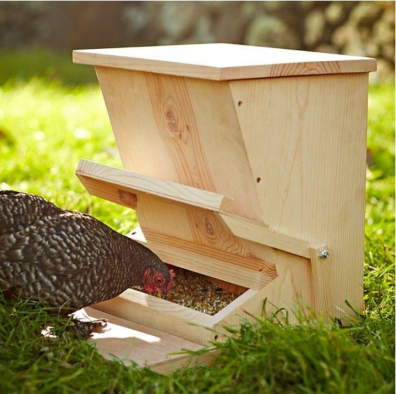 деревянная кормушка для птицы