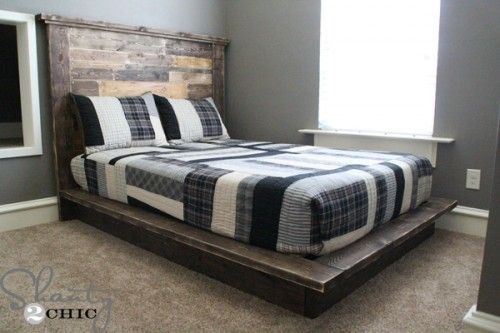 Thanks so much for stopping by! If you don't already, we would love for you to follow us on our Instagram and Pinterest accounts to keep up with all of our recent posts and sneak peeks Hey guys! I'm back to share the platform bed that I made for my son If you missed the {...Read More...}