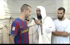 Wow! Adriano Barcelona Player Convert To Islam