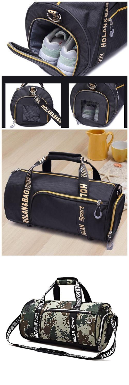 Unisex Outdoor Messenger Bags Waterproof Sport Gym Bag For Shoes Travel Bags Lady Fitness Handbag Crossbody Shoulder Bag Bagail.com