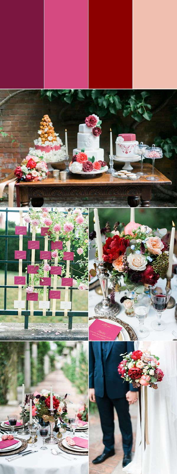 blush-colored wedding captured by Kate Nielen