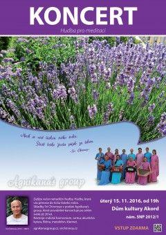 DK AKORD | Program Kurzy | Kalendář akcí | Ostatní akce | KONCERT - Hudba pro meditaci