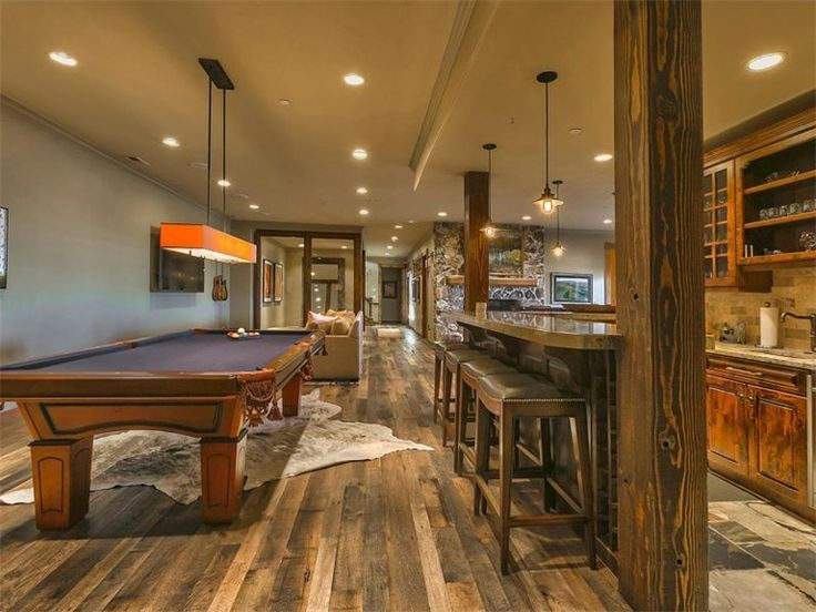 Rustic Basement Ideas Combined With Some Gorgeous