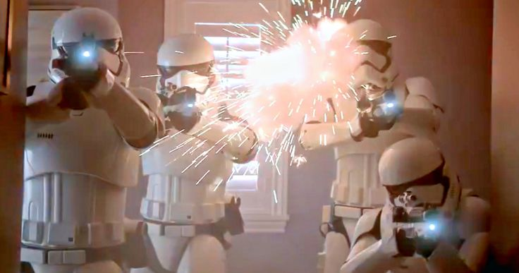 'Star Wars 7' Duracell Commercial Has Stormtroopers Attacking Earth -- The First Order shows up to ruin one family's Christmas morning in a new 'Force Awakens' TV spot that features C3PO and R2D2. -- http://movieweb.com/star-wars-7-force-awakens-duracell-commercial/