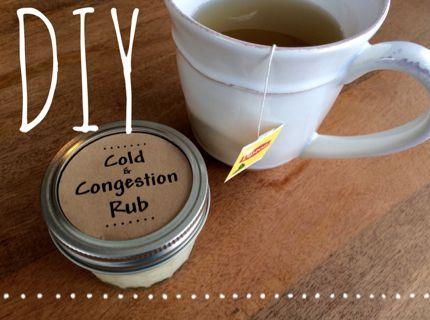 Recipe: Cold & Congestion Rub! :) #BulkApothecary http://www.bulkapothecary.com/blog/essential-oil-benefits/recipe-cold-congestion-rub/