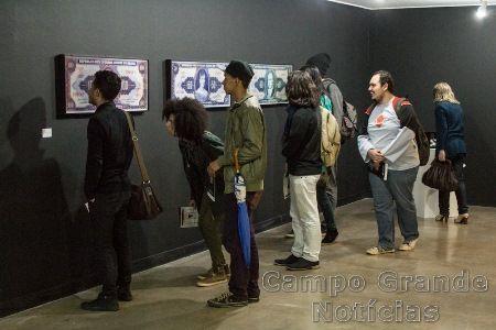 Exposição 'Moedas', do artista plástico Alexandre Frangioni – Foto: Daniel Reino / FCMS