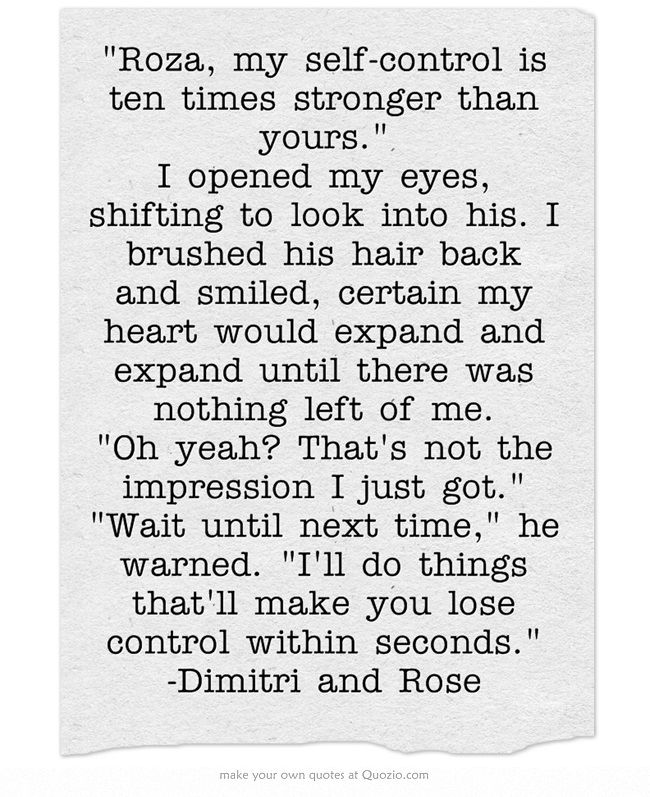 Vampire Academy Quotes | Dimitri and Rose | I'm in love with this scene <3 :P
