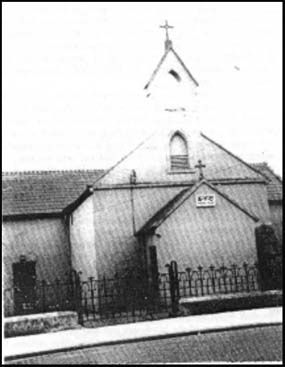 old Catholic church, Saintfield town