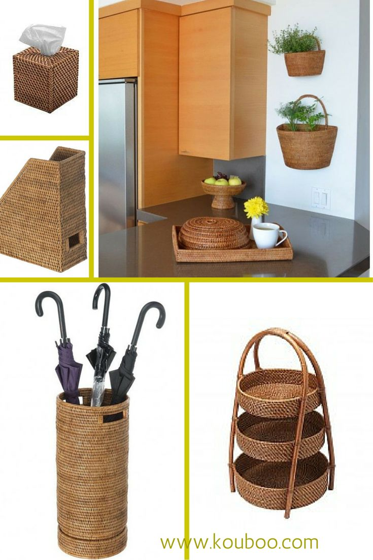 531 best Baskets Weaves Home Decor images on Pinterest