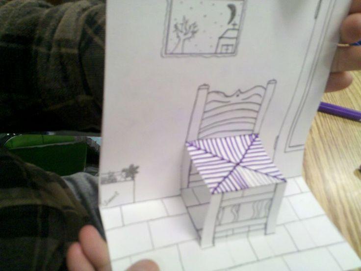 ART with Mrs. Smith: Van Gogh Chair - 3D
