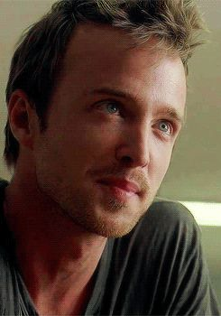 Aaron Paul Licks His Lips In Desire Gif