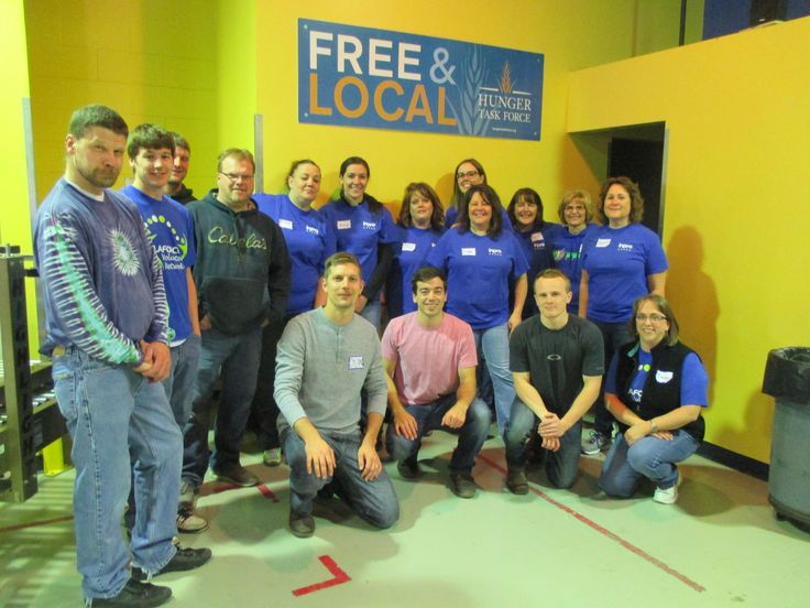 The Milwaukee team volunteered at Hunger Task Force!  #giveback #Volunteer