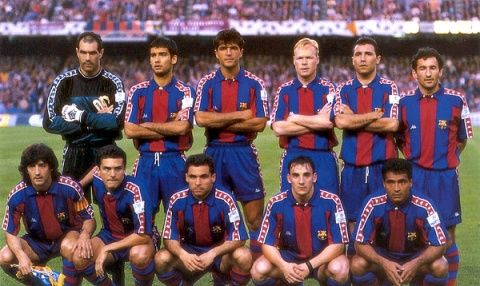 Barcelona Greatest XI of All TIme