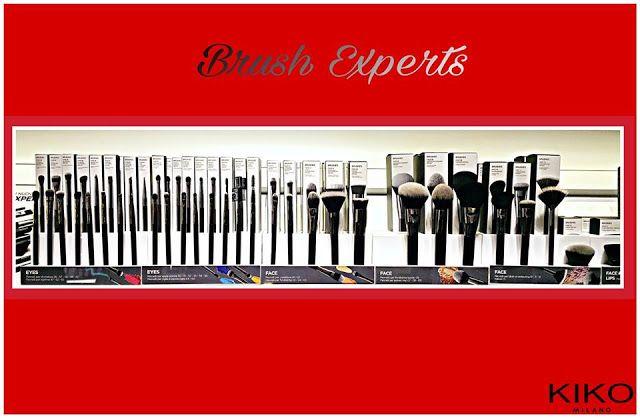 Mecapp: Kiko Milano -  Brush Experts, Pennelli professiona...