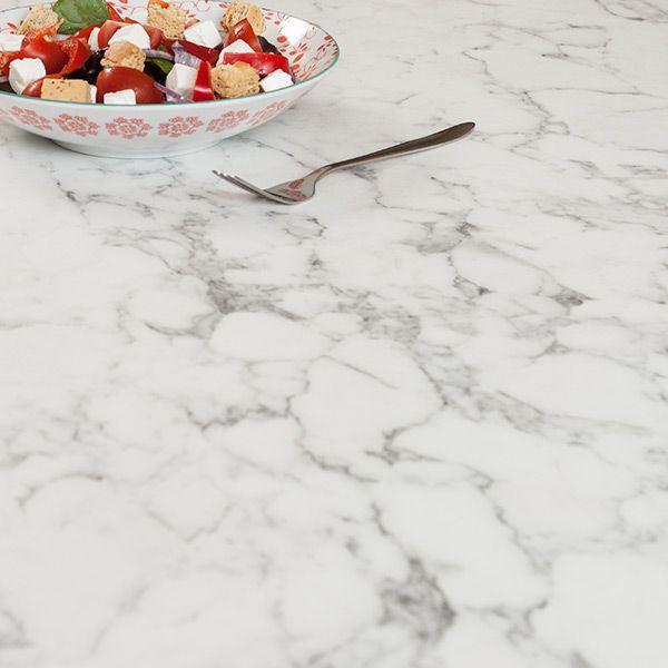 Moderne Arbeitsplatte In Weisser Marmor Optik Preiswert Pflegeleicht Marmoroptik White Kitchendesign Marmor Arbeitsplatte Arbeitsplatte Weisser Marmor