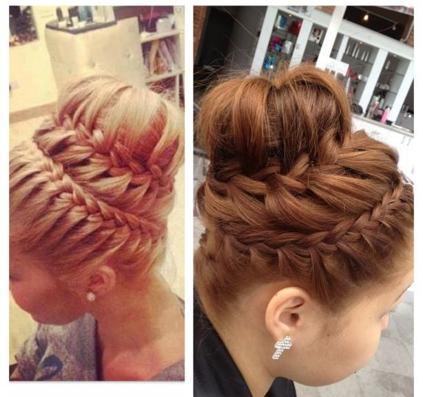 42 best french braids images on pinterest french braids braids updo french braid pmusecretfo Gallery