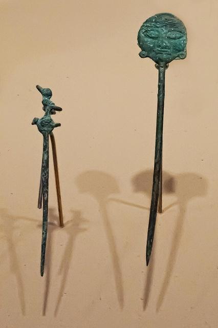 Piercers Inca and Moche Peru Copper 1400-1600 CE by mharrsch, via Flickr