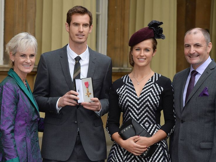 "Andy Murray spoke to Prince William for about a minute while receiving the honor.   ""He just asked me about my surgery and asked me how I had been since Wimbledon,""  he also revealed that Prince William's wife, Kate, wrote a letter to him after Wimbledon.   ""I told him her handwriting is fantastic,"""