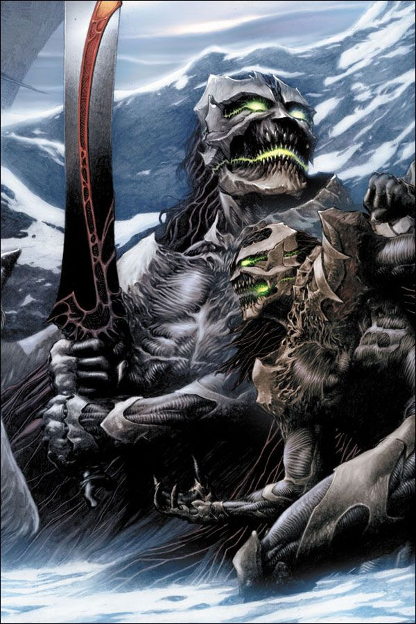 SPAWN.COM >> COMICS >> SPAWN: GODSLAYER COLLECTION >> TRADE PAPERBACK >> ISSUE 1