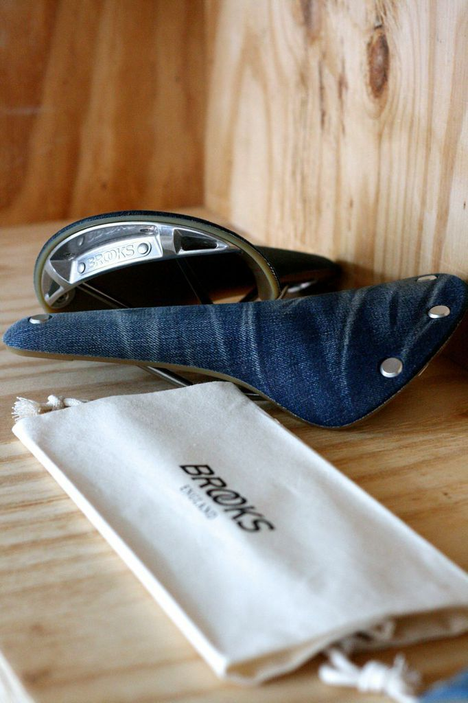 The Cambium Denim - crafted using recycled denim collected by Levi's Commuter Workspaces
