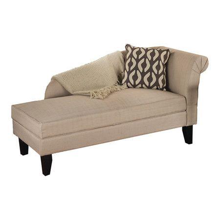found it at wayfair leena cotton chaise lounge in beige
