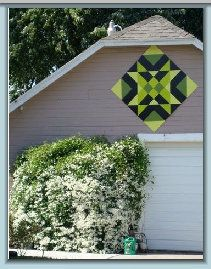 Order your own quilt for your barn or one of our birdhouses with a quilt on it…