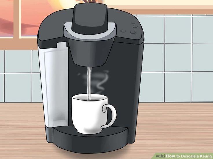 Keurig Coffee Maker Descaling Solution : Descale a Keurig Keurig
