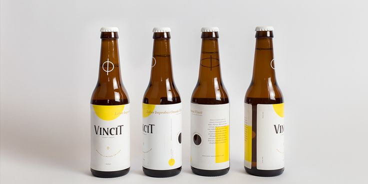 """Labor conquers all."" Vincit Beer is, quite simply, a sweet sign of  gratitude from designer Marco Vincit."