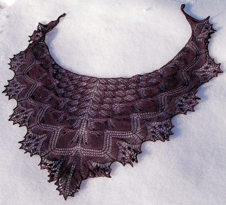 Our top 9 FREE lace shawl knitting patterns - Knitting Blog - Let's Knit Magazine
