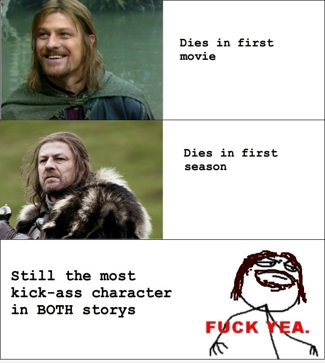 Just Sean Bean…
