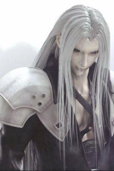 Final Fantasy VII Sephiroth Halloween Long Wig