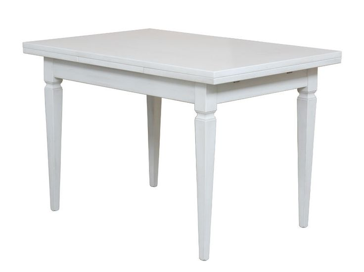 Extendable wooden table 120-200 cm - ItalianStyle by ArteFerretto http://www.italian-style.co.uk/wp/product/204-bi-extendable-wooden-table-120-200-cm/