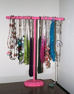 Fashion meets Food: DIY Necklace Stand