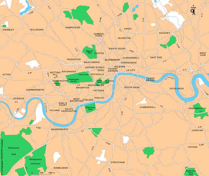 Carte Londres : Plan Londres - Routard.com