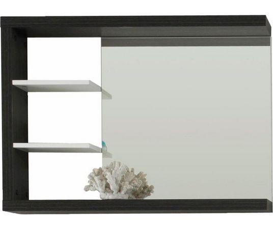welltime spiegel »sunrise« met planchet wit
