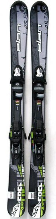 Elan Freeline Skiboards 135 cm with Elan Release Bindings Sil/G Elan 135 cm skiboards, short skis, snowblades with release bindings [ELN2007] - $299.00 : Skiboards.com