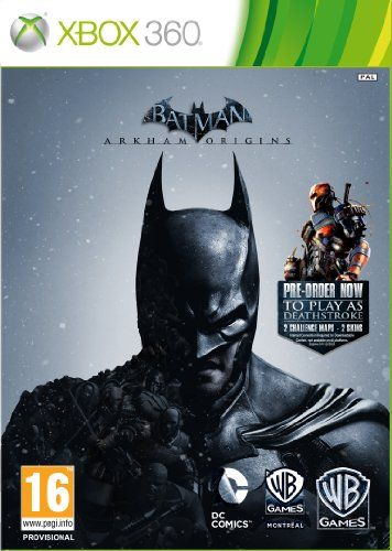 Batman: Arkham Origins (XBOX 360) Legends Edition - Including Deathstroke DLC + Challenge Maps + 6 Skins null http://www.amazon.com/dp/B00G6MRVSA/ref=cm_sw_r_pi_dp_DMvfwb06EJC79