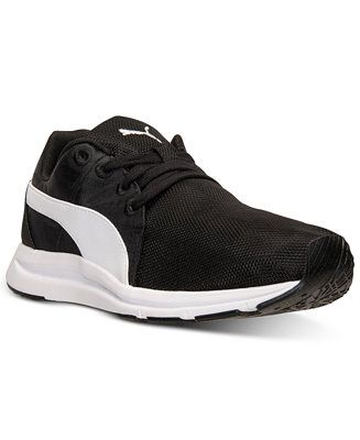 puma women's haast lace sport casual sneakers from finish
