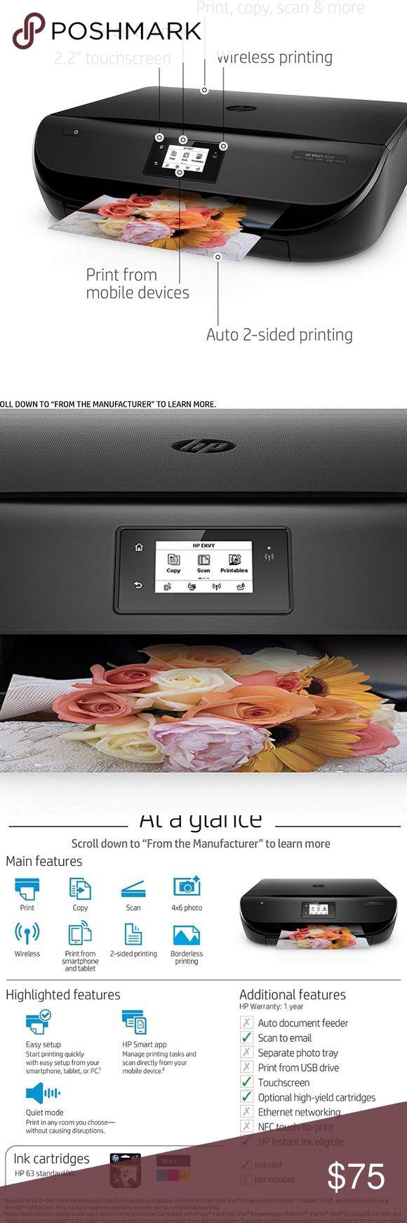 HP Envy 4520 Wireless AllinOne Photo Printer Main